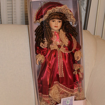 Hand Crafted Porcelian Doll
