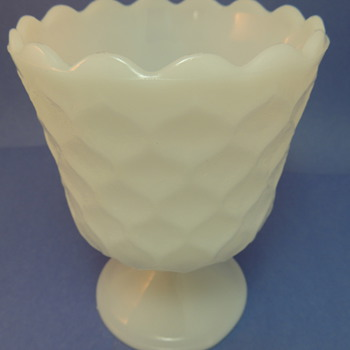 E.O. Brody Glass Vase