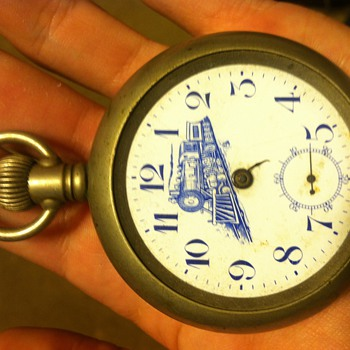 Train pocket watch  - Pocket Watches