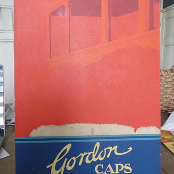 Byhograph cardboard ad