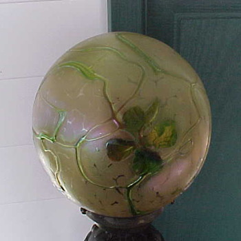 Unknown Globe - Art Glass