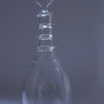 Edwardian Decanter - Art Glass