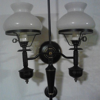 ??? about my grandmother's wall lamps