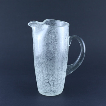 Orrefors? Vicke Lindstrand? Isat (Iced)? - Nope, probably Johansfors! - Glassware