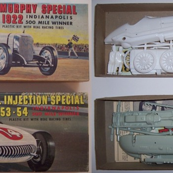 Plastic model kits - Model Cars