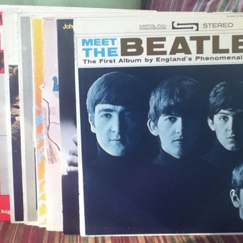 Beatles & John Lennon Record Lot - Records