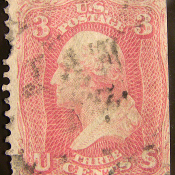 Pigeon Blood Pink US 3 Cents Stamp - Stamps