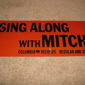 Sing Along with Mitch - Signs