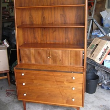 "Walnut Drexel ""Declaration"" Secretary from 1959 - Mid Century Modern"