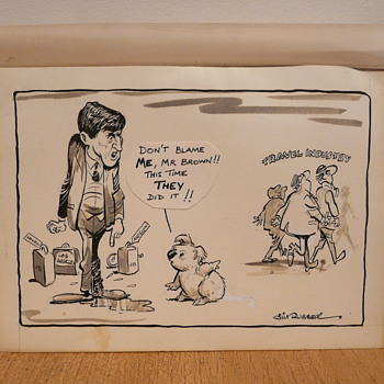 OZ KOALA CARTOON - JIM RUSSELL c.1985 - Paper