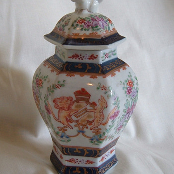 Chinese Temple Jar - Asian