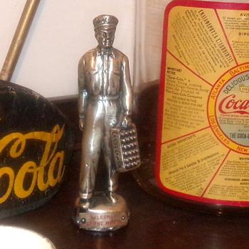 1930's Coca-Cola Salesman of the Month Award - Coca-Cola
