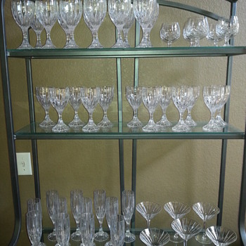 Beautiful collection of bar and display glassware