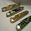 A Few Solid Celluloid Handled Pocketknives