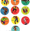 Marvel Super Hero's Sticker Set PDQ