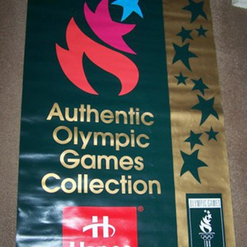 Hanes 1996 authentic Olympic collection banner  - Outdoor Sports
