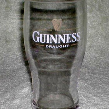 """Guinness"" Beer Glass - Breweriana"