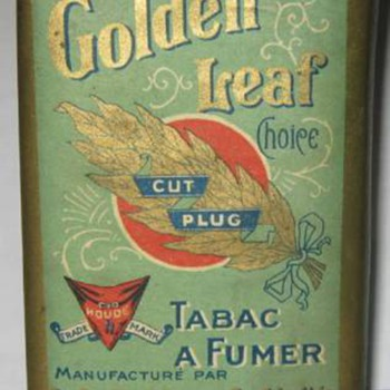 the b houde  smoking tobacco pack  full golden leaf 1915 - Tobacciana