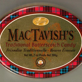 MacTavish's Butterscotch Candy Tin