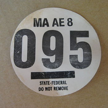 State Federal Badge - Petroliana