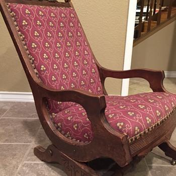 Platform carpet rocker - Furniture