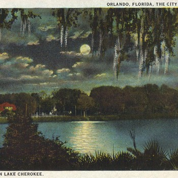 ORLANDO - THEN - Postcards