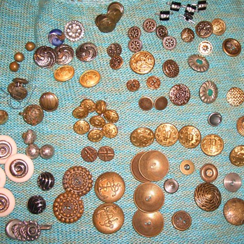 A Few More Metal Buttons + more