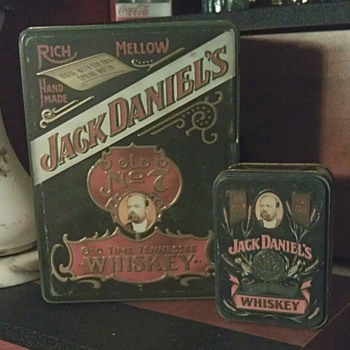Jack Daniels Tin Box - Advertising