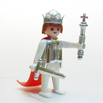 Mediaeval king (Playmobil, 1974) - Toys