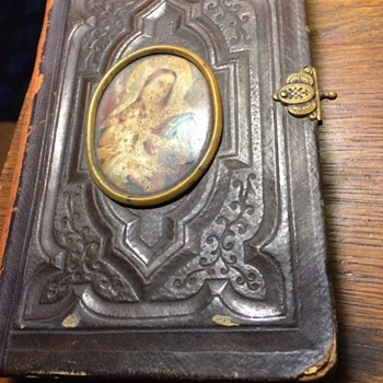 VERY OLD POLISH BIBLE WITH DOCUMENTS INSIDE - Books