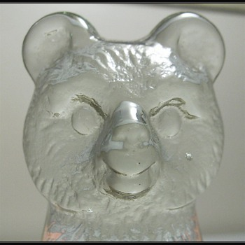 BELFOR GLASS Bears - Czech - Animals