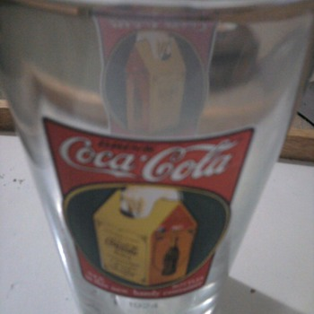 classic coke glasses - Coca-Cola