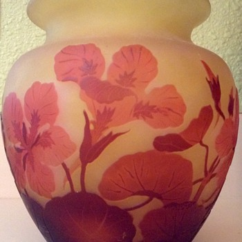 Galle Vase - Art Glass