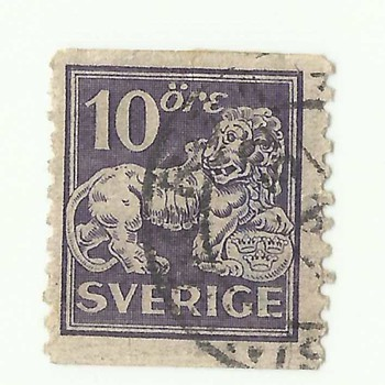 OLD SWEDEN POSTAGE STAMPS - Stamps
