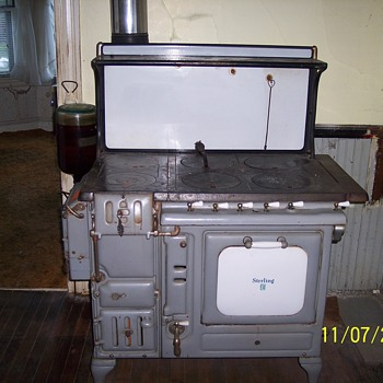 Sterling Cook Stove, Sill Stove Works, Rochester NY - Kitchen