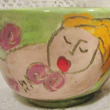 Art pottery by Sandra Magsamen