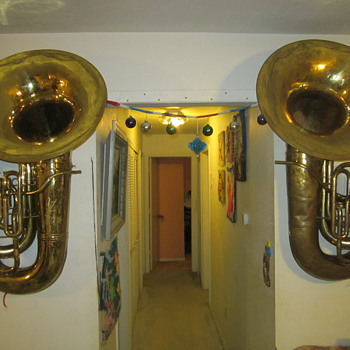 Conn 20J and 22 J Tubas - Musical Instruments