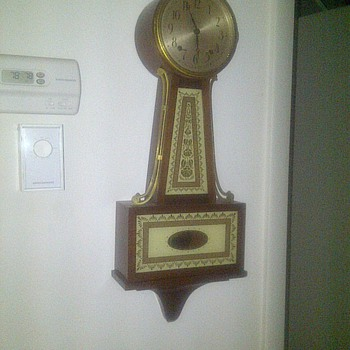 Antique winding Seth thomas clock
