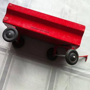 Massey-Ferguson toy.