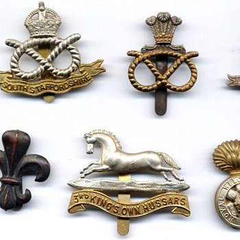 Army and Civilians badges of WW2 - Medals Pins and Badges