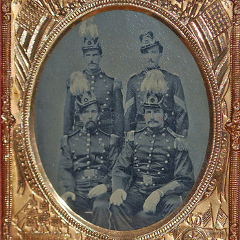 Mystery Civil War tintype?