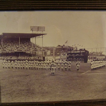 WORLD SERIES 1952 Game 1 Photograph