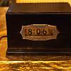 Art Deco Pennwood numechron, Model 529? with Adler-Royal Case