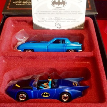 Batmobile collection