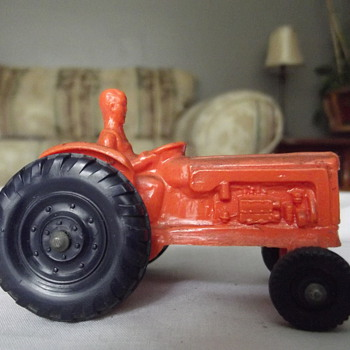 plastic or rubber tractor - Model Cars