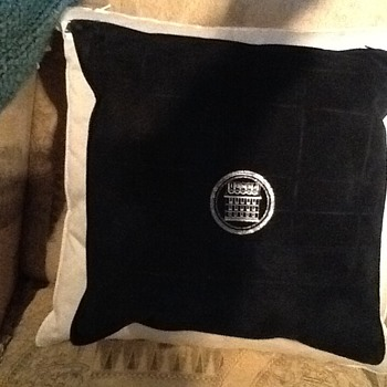 Suede Fendi Pillow