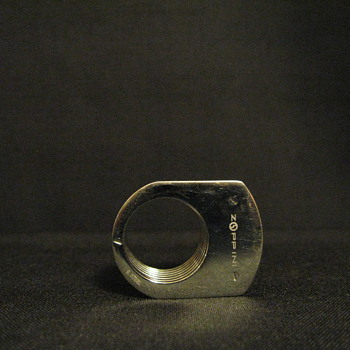 ZOPPINI STAINLESS STEEL  RING  - Costume Jewelry