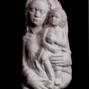 Madonna and Child - Arts and Crafts