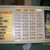 Miller High Life lighted pricing sign