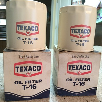 Texaco Oil filter T-16 - Petroliana